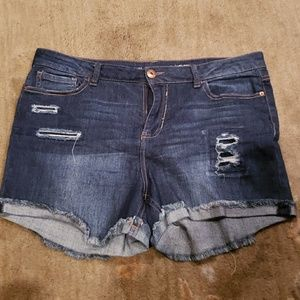 Vanilla star Jean shorts